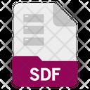 Sdf file Icon
