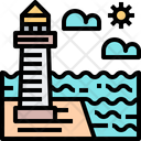 Sea Sea Tower Tower Icon