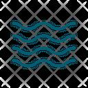 Sea Water Ocean Icon