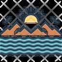 Sea Marine Ocean Icon