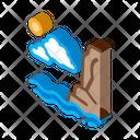 Night Sea Travel Icon