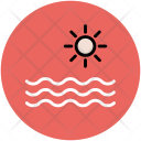 Sea And Sun Icon
