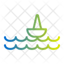 Sea Boat Ocean Icon