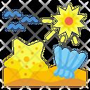 Sea Star Shell Icon