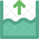 Sea Level Flood Icon