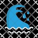 Sea River Ocean Icon