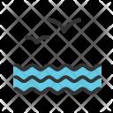 Water Birds Sea Icon