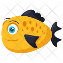 Sea Bass Shallow Freshwater Icon