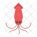 Animal Sea Squid Icon