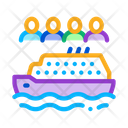 Sea Crossing Liner Icon
