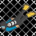 Sea Diver Icon