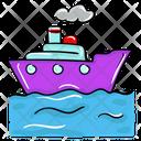Sea Freight Sea Transport Ship Icon