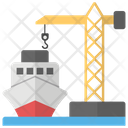 Sea Freight Cargo Icon