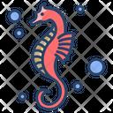 Sea Horse Horse Sea Animal Icon