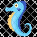 Seahorse Sea Monster Hippocampus Icon