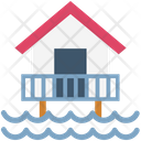 Sea House Resort Flood Icon