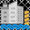 Sea Level Rise Icon