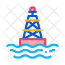 Sea Light Buoy Icon