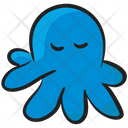 Sea Octopus Cephalopoda Polypus Icon