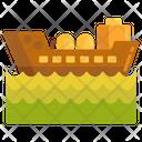 Sea Oil Tanker Icon