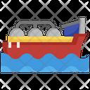 Sea Oil Tanker Cargo Ship Oil Icon