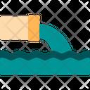 Sea Pollution Sea Water Pollution Icon