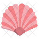 Sea Shell Oyster Scallop Icon