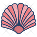 Sea Shell Shellfish Scallop Icon