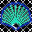 Sea Shell Shellfish Scallop Icon