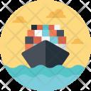 Shipping Cargo Shipment Icon