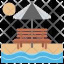Sea Sight Seashore Icon