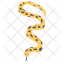 Coral Reef Snake Sea Snake Icon
