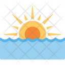 Sea Sunset Icon