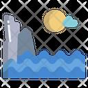 Sea View Seaside Beach Side Icon
