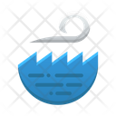 Sea Wave Weather Sky Icon