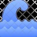 Wave Sea Wind Icon