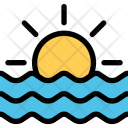 Sea Weather Insurance Icon
