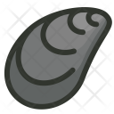 Seafood Shell Mussel Icon