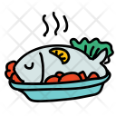 Seafood Fish Meal Icon