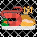 Seafood Shrimp Shellfish Icon