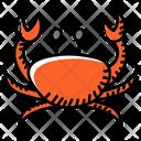 Crustacea Seafood Edible Icon