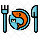 Seafood Restaurant Fish Icon