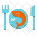 Seafood Restaurant Fish Icon