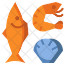 Seafood Shrimp Fish Icon