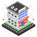 Seafood Shop Seafood Market Store Icon