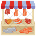 Seafood Stall Icon