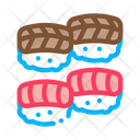Sushi Roll Seafood Icon