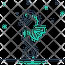 Seahorse Horse Head Icon