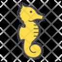Seahorse Horse Animal Icon