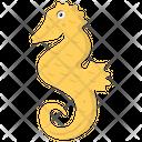 Seahorse Fish Sea Animal Icon